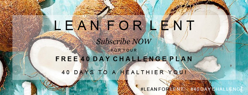 Get Lean, fit, healthy, abs, motivation, lent, diet, inspiration, free guide