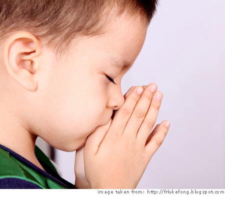 Berdoalah kayak anak kecil, minta ini itu dan jelas