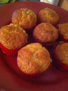 muffins fourme d'ambre