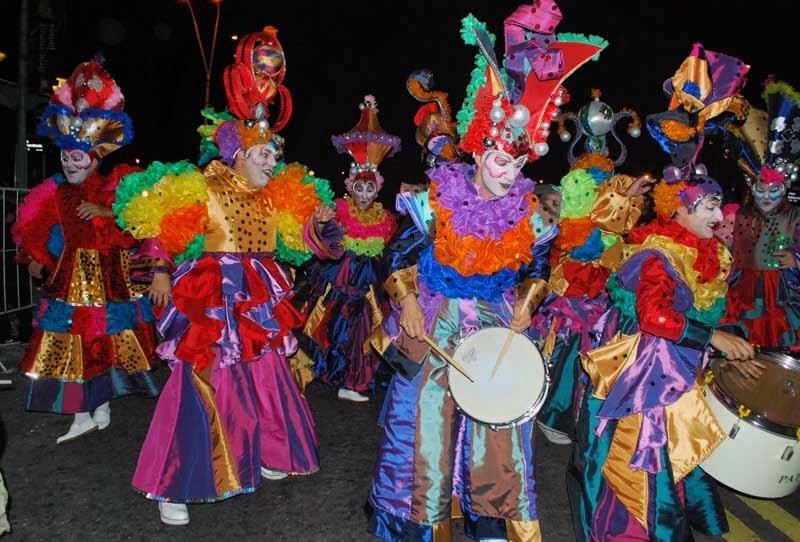 Desfile Inaugural del Carnaval. 2015. Patos Cabreros.