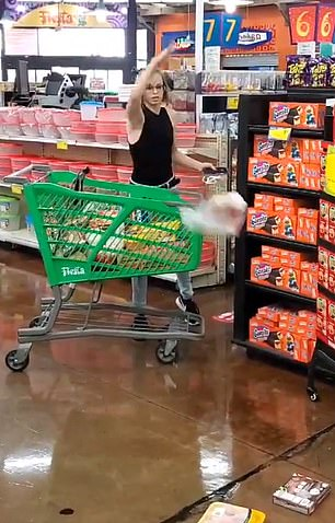 30237710 8476173 image m 45 1593543556143 - Girl goes berserk at grocery store when she was requested to put on a face masks [photos/video]