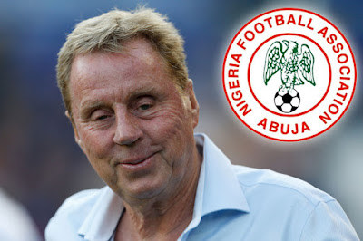 image result for harry redknapp nigeria super eagles
