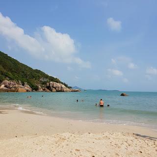 Spiaggia di Coral Bay a Koh Samui