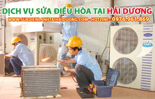 Sửa điều hòa Hải Dương - Dịch vụ sửa chữa điều hòa tại nhà