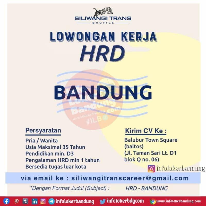Lowongan Kerja HRD Siliwangi Trans Bandung Juli 2021
