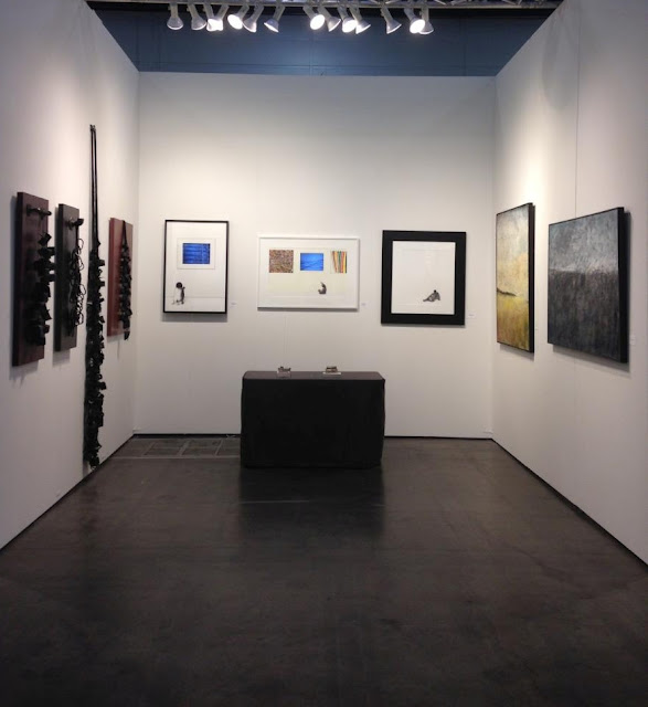 Alida Anderson Art Projects, LLC booth 614 at Texas Contemporary Art Fair