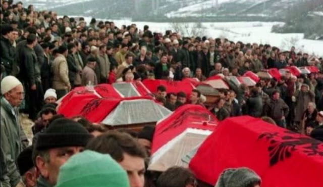 Serbia denies the Račak massacre; Kosovo appeal strongly to the US and the European Union