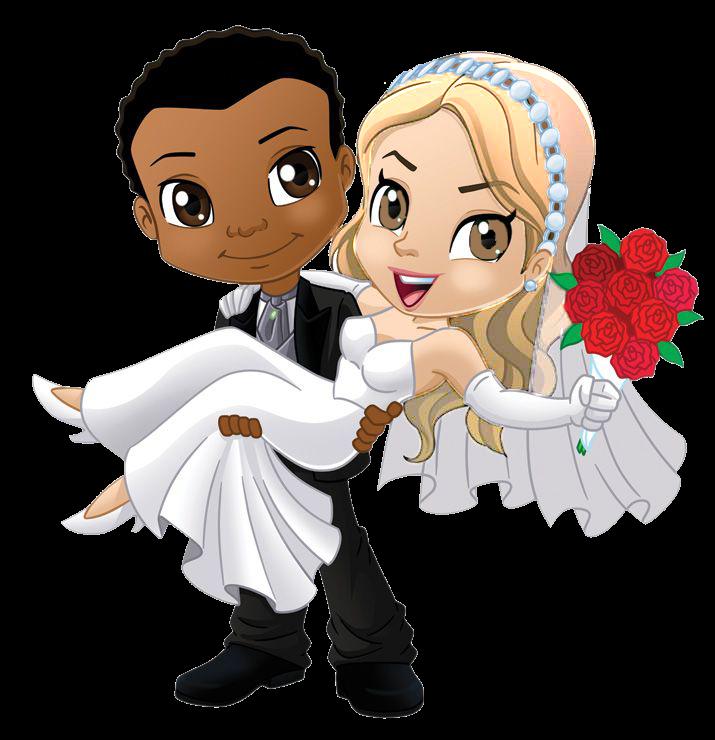 Imagem Casal Png ~ Blindada por Deus Alfabeto casal noivos png