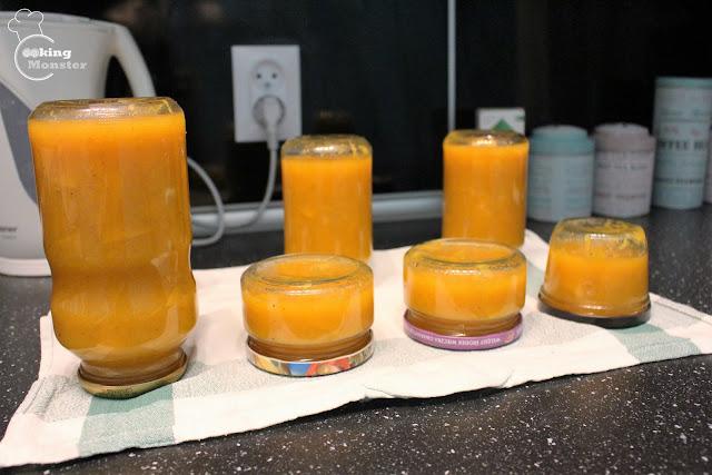 Dżem dyniowy z nutą pomarańczy i piernika