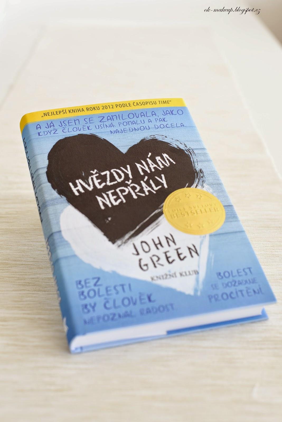 book, hvězdy nám nepřály, john green