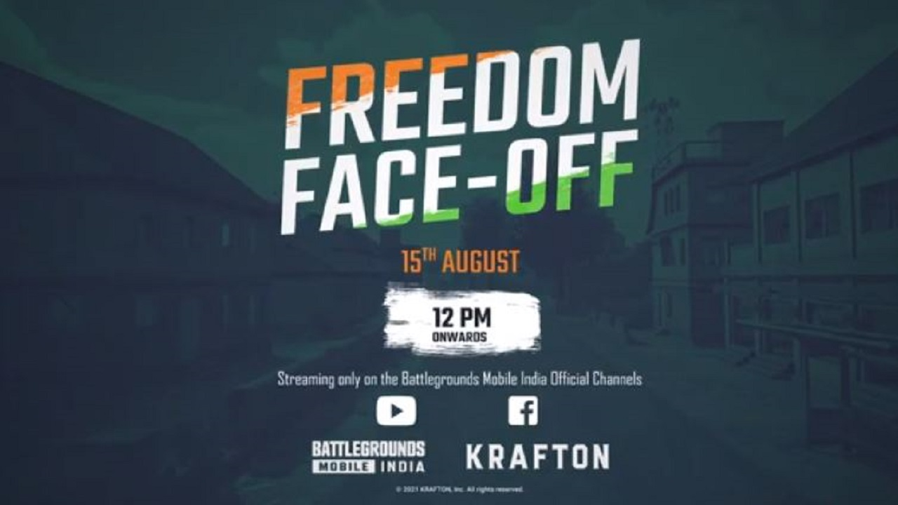 BGMI Freedom Face Off Tournament