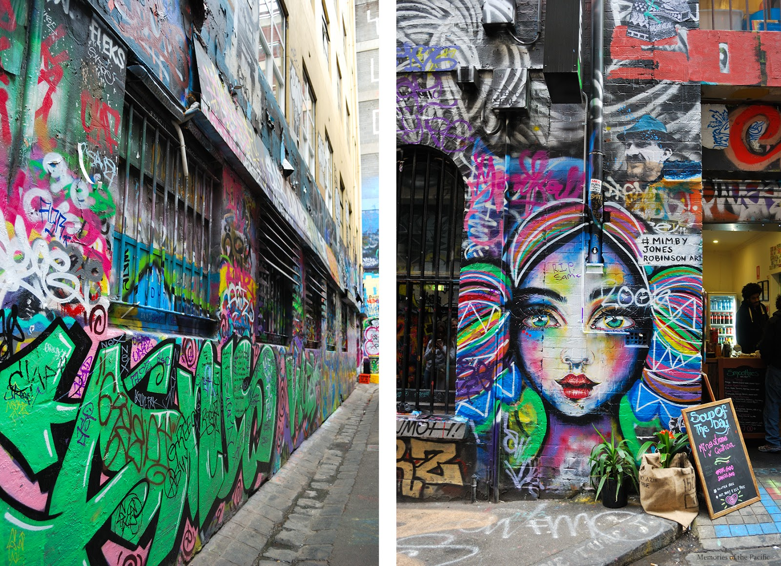 hosier lane melbourne australia graffiti