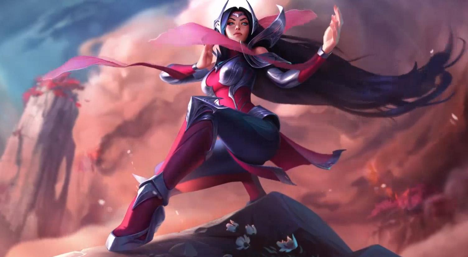 Irelia League Of Legends Animated Wallpaper