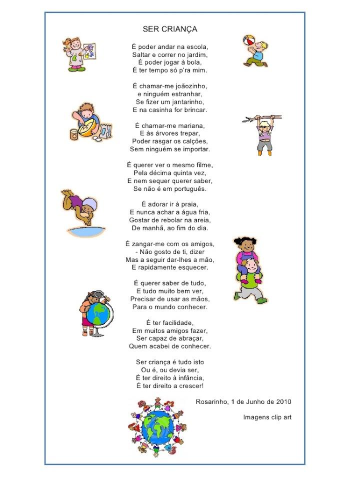 Texto Ser Criança.