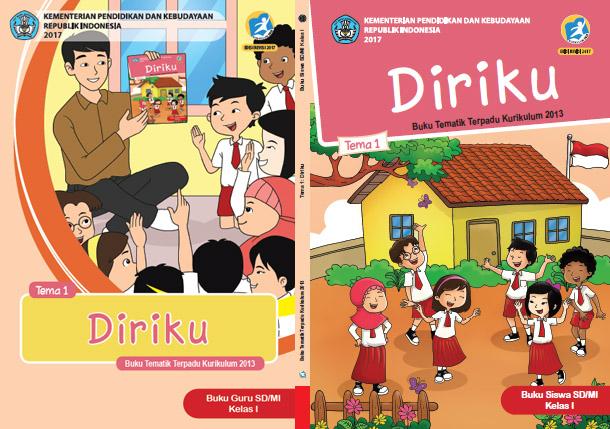 Buku Tematik Terpadu Kelas 1 Kurikulum Edisi Revisi 2017