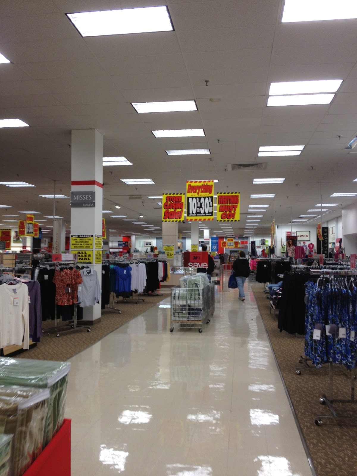 Sears clothing store