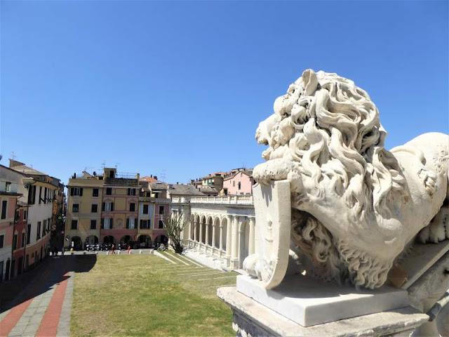 centro storico di Lavagna