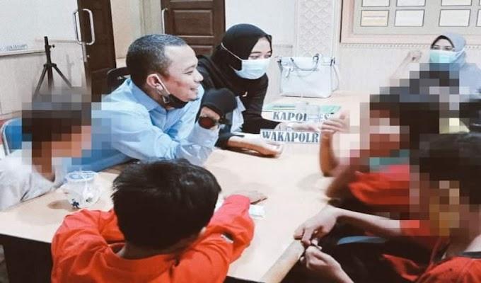 PK Bapas Kelas II Serang Lakukan Pendampingan KAB dengan Hukum di Polres Cilegon