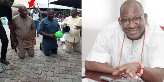 Kneeling Down Has Paid Off For Patrick Obahiagbon As He Wins Senate Ticket