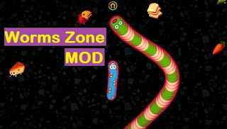 Download Cacing Worms Zone io Mod Apk