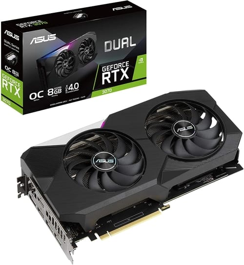 ASUS Dual NVIDIA GeForce RTX 3070 OC Edition Gaming