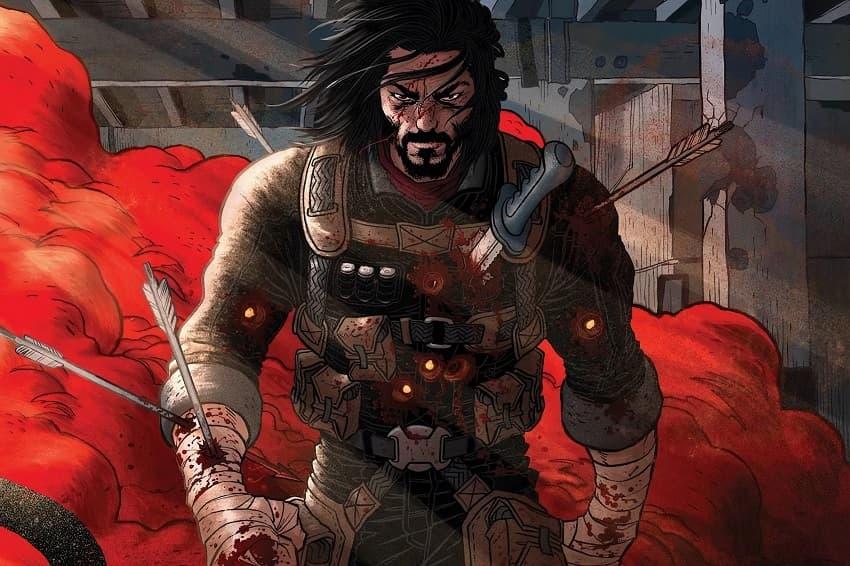 Netflix снимет экранизацию BRZRKR - эпического комикса Киану Ривза
