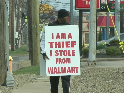 i am a thief walmart ohio