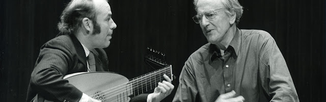 Julian Bream and Peter Pears