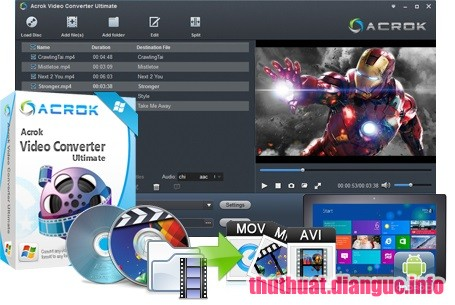 Download Acrok Video Converter Ultimate 6.6.101.1240 Full Cr@ck