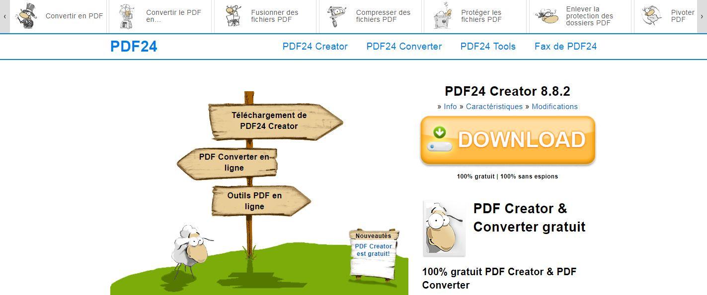 """Résultat de recherche d'images pour """"PDF24 Creator"""""""