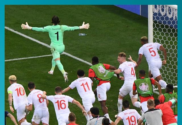 Γαλλία-Ελβετία 3-3 (4-5 στα πέναλτι): Τα...τυριά ξεπέρασαν το εμπόδιο των τρικολόρ