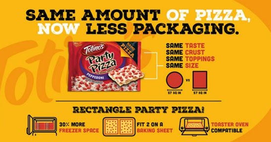 Totino S Pizzas Are Now Rectangular And Come In Bags