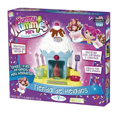 TOYS : JUGUETES - Yummy Nummies Mini Cocina Mágica - Tienda de helados Cefatoys 2016 | MANUALIDADES | +6 años Comprar en Amazon España