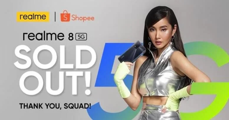 realme 8 5G sold-out success within hours of its formal launch