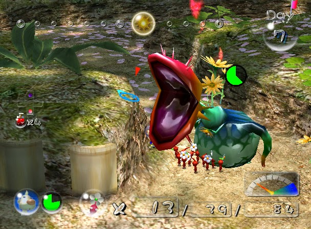 Game A Day Threesixtyfive Day 169 Game 169 Pikmin 2