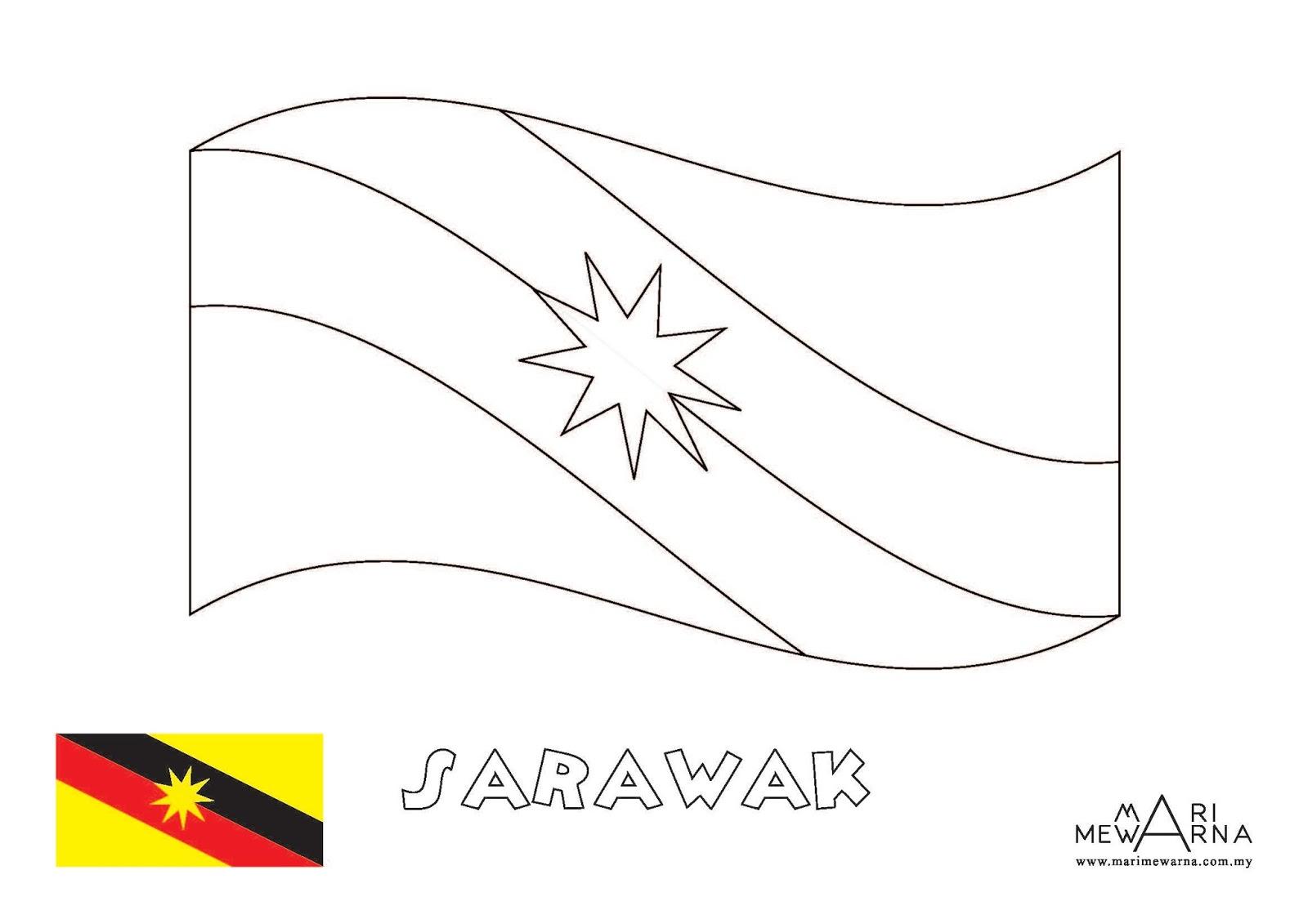Gambar Bendera Selangor Untuk Mewarna Persoalan C