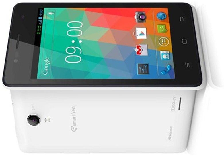 Smartfren Andromax C3si Ponsel Kitkat Bertenaga Quad Core Usung 4g