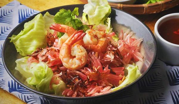Bacolod restaurants - East Bite Restaurant  - Bacolod blogger - list of Bacolod restaurants - Where to eat in Bacolod - Thai pomel and prawn salad