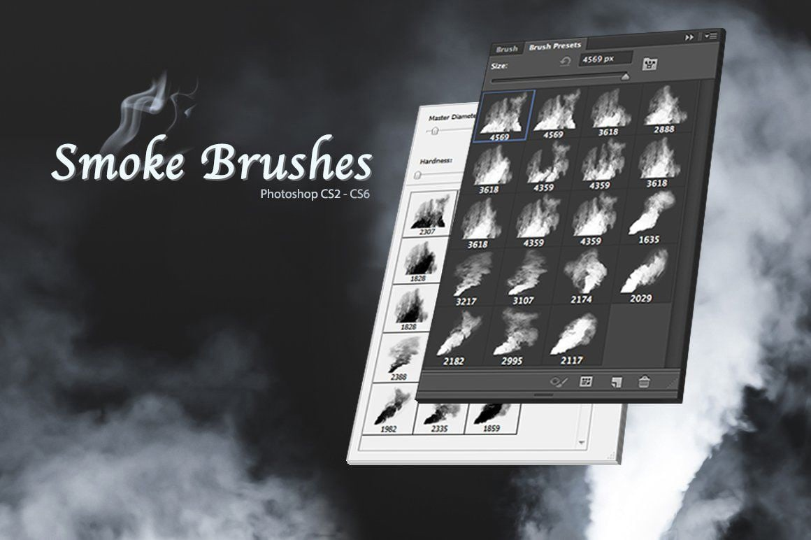 Кисти дыма для Фотошопа