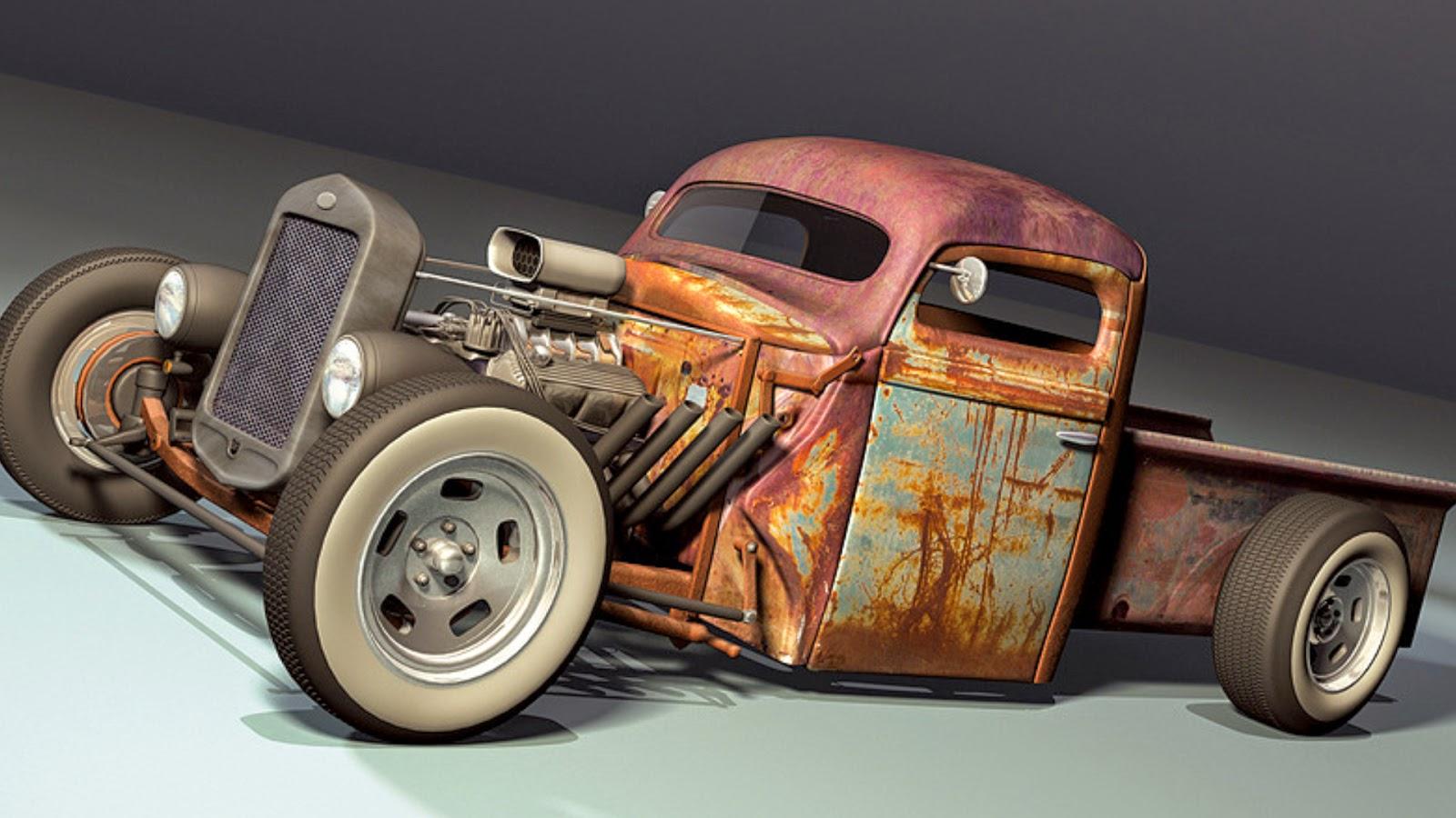 rat rod cars best - photo #32