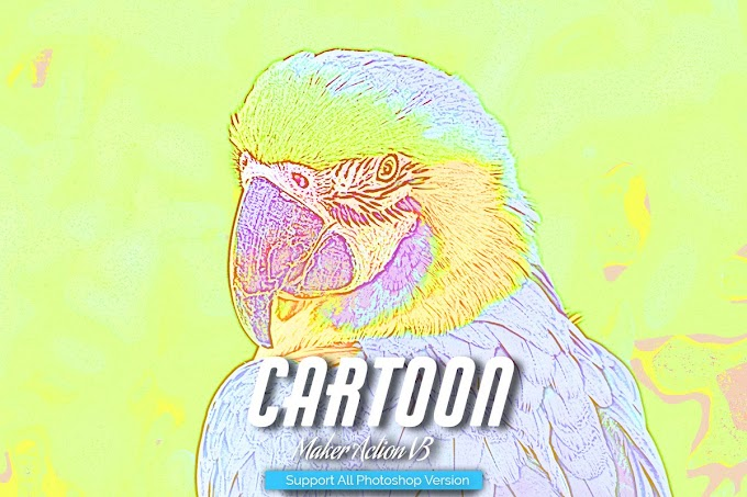Cartoon Maker Photoshop Action V3 5457120