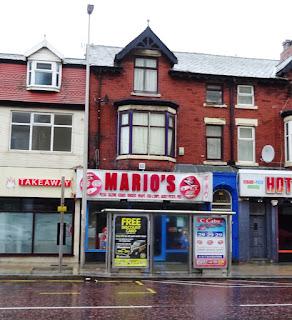 Mario's takeaway on Dickson Road in Blackpool