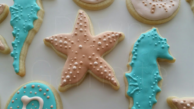 starfish cookie