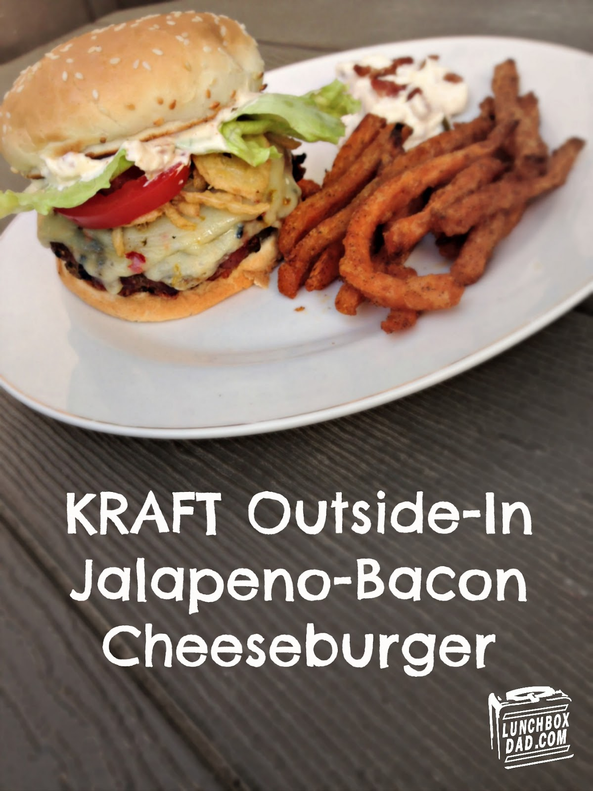 KRAFT Outside-In Jalapeno-Bacon Cheeseburger #SayCheeseburger #CollectiveBias