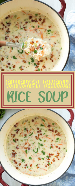 {QUICK} CHICKEN BACON RICE SOUP