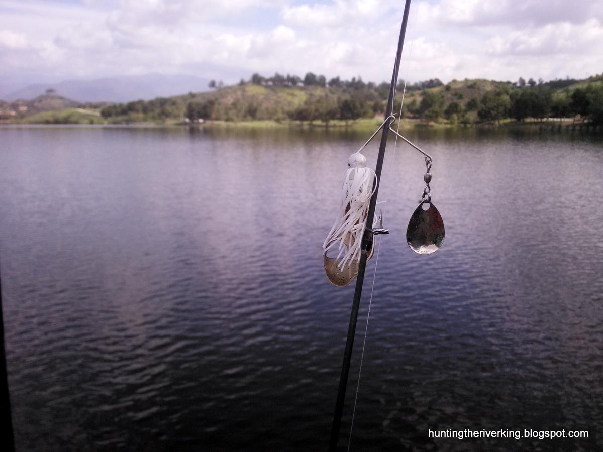 Bass fishing at puddingstone reservoir hunting the river for Puddingstone lake fishing