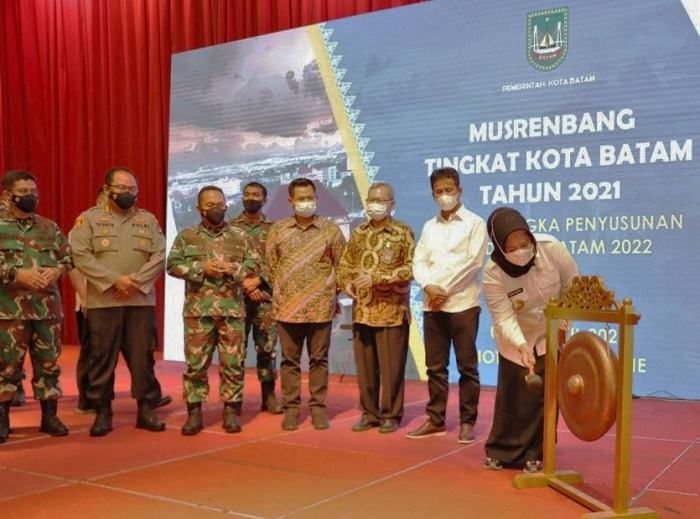 Musrembang Batam, Wagub Kepri Berharap Kabupaten/Kota Dapat Berkolaborasi Dalam Pembangunan