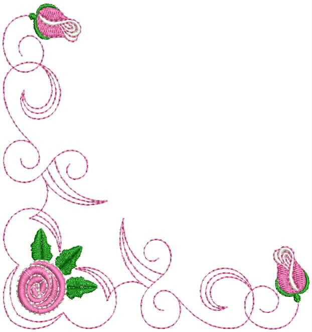 Imagens e Molduras de Flores