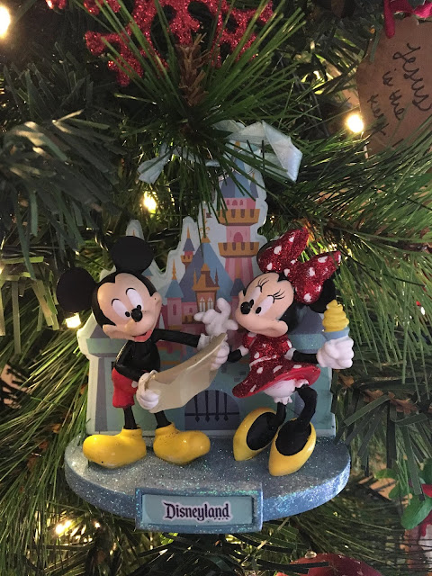 Disneyland Christmas Ornament 2018