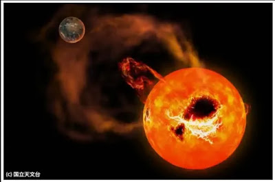 Nearest To Red Dwarf Star 'AD Leonis' With Huge Solar Flares Tips
